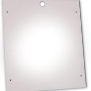 PlexiDor Security Plate