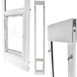 Ideal Fast Fit Pet Patio Doors  sc 1 st  PlexiDor & Ideal Fast Fit Pet Patio Doors \u2013 Dog Doors | Cat Doors