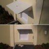 Awning for PlexiDor pet doors