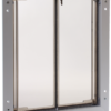 Large silver PlexiDor dog door