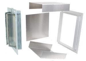 PlexiDor wall kit