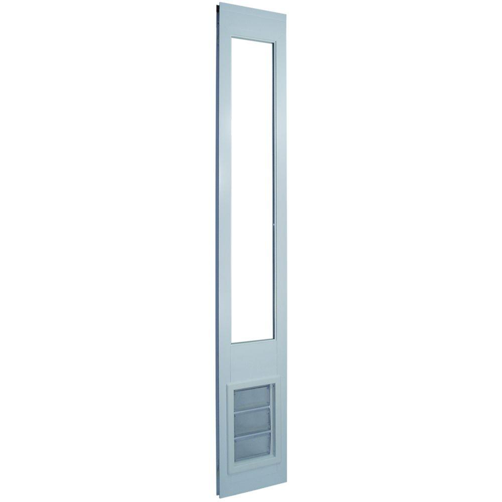 Ideal vinyl insulated pet patio door