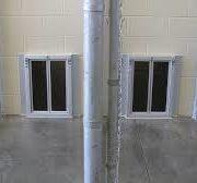 BiteGuard KennelPlex installed in kennel