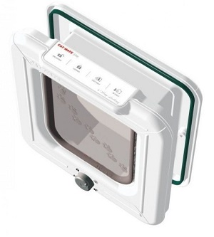 Cat Mate Elite 4-Way Locking Cat Flap