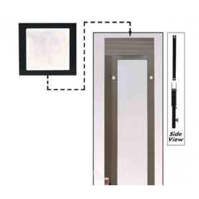 Ideal Fast Fit Height Extension Panel Dog Doors Cat