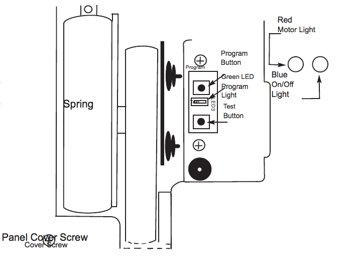 Electronic door diagram