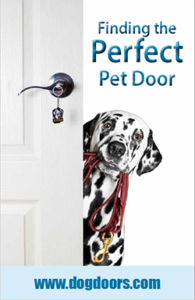 Finding the perfect pet door - cover thumbnail