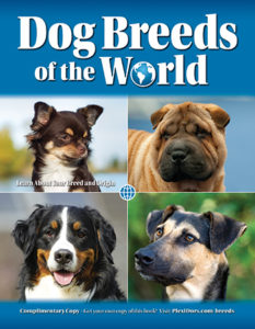 Dog breed book cover, thumbnail