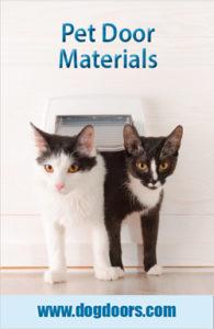 Pet Door Materials